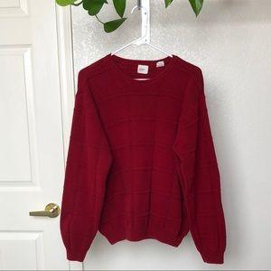 Vintage Arrow Oversized Knit Pullover